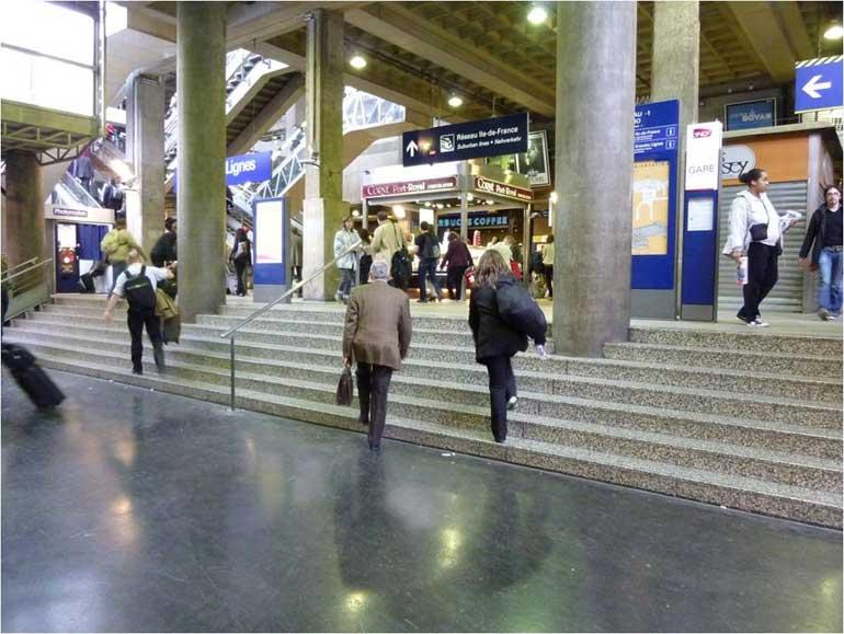 Tourisme et apprentissages tourisme et handicap for Plan interieur gare montparnasse